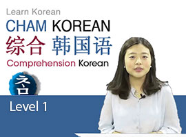 Cham Korean for Chinese level 1 综合韩国语